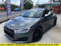 2017 AUDI TT 2.0 TFSI ORIGINAL LOW MILEAGE 14K ONLY FACELIFT TFSI MODEL DIGITAL METER