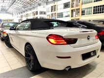 2012 BMW 640i 3.0 (A) NEW FACELIFT MODEL CONVERTIBLE SPORT VERSION TIP TOP