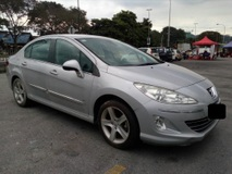 2013 PEUGEOT 408 2.0 (A) TIPTOP SERVICE RECORD LOW MILLEGE