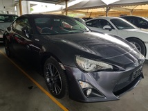 2014 TOYOTA 86 20 Coupe Unregistered