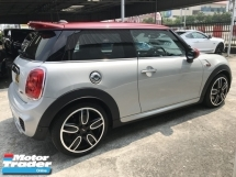 2016 MINI 3 DOOR COOPER S 2.0 TURBO JCW UNREG
