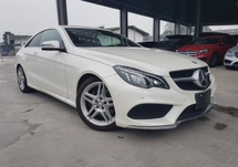 2014 MERCEDES-BENZ E-CLASS 2014 Mercedes E250 Coupe AMG Japan Spec Keyless Full Leather L & R Memory Seat unregister for sale