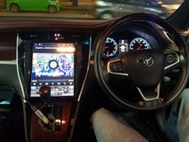 Toyota Harrier 15 18 12 Oem Android car players  In car entertainment & Car navigation system