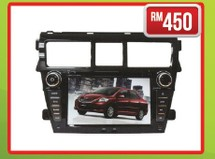 TOYOTA VIOS TRD 2007 7 PS7957G Other Accesories