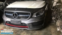 MERCEDES BENZ CLA AMG HALFCUT HALF CUT NEW USED RECOND AUTO CAR SPARE PART MALAYSIA Half-cut