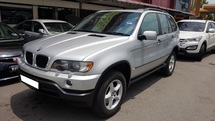 2003 BMW X5 X5 3.0cc (A) REG 2003, CAREFUL OWNER, LEATHER SEAT, 2 ELECTRIC SEAT, LOW MILEAGE DONE 99K KM, 17
