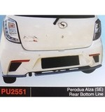 PERODUA AXIA SE REAR BOTTOM LINE (PU2551) Other Accesories