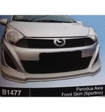 PERODUA AXIA SPORTIVO FRONT SKIRT (B1477) Other Accesories