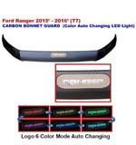 FORD RANGER 20152016 CARBON BONNET GUARD COLOR LED LIGHT Oils, Coolants & Fluids
