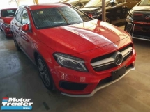 2015 MERCEDES-BENZ GLA GLA45 JAPAN AMG SPEC LOCAL AP UNREG