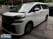 2016 TOYOTA VELLFIRE 2.5ZG Edition CBU Recon Japan