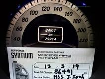 2013 MERCEDES-BENZ C-CLASS C250 1.8L (A) BLUE EFFICIENCY FULL SVC RECORD BY HSS