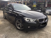 2015 BMW 3 SERIES 330I M-SPORT PACKAGE LCI 5 YRS WARRANTY 5 FREE SERVICE LOCAL