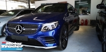 2017 MERCEDES-BENZ GLC 43 AMG 3.0 4MATIC PREMIUM PLUS FULLY SPEC /COUPE STYLISH /READY STOCK