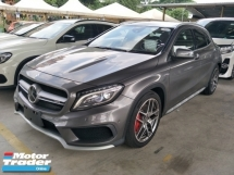2015 MERCEDES-BENZ GLA 45 2.0 4MATIC AMG GREY EDITION SUNROOF BUCKET LEATHER SEATS