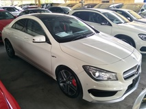 2014 MERCEDES-BENZ CLA 45 2.0 AMG JAPAN SPEC SUNROOF WHITE EDITION 2 MEMORY LEATHER SEATS