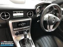 2015 MERCEDES-BENZ SLK Unreg Mercedes Benz 1.8 SLK200 AMG Turbo Paddle Shift Convetible Top 7G