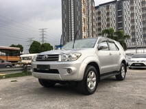 2010 TOYOTA FORTUNER 2.7 V (A) FULL LOAN AVAILABLE ** EXCELLENT CONDITION ** SPECIAL PROMOTION **