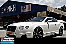 2014 BENTLEY CONTINENTAL GT MULLINER 4.0 ( A ) V8S TWIN TURBO NEW FACELIFT !! 2 DOOR COUPE WALD BISON BODYKIT !! SPORT LIMITED EDITION !! PREMIUM HIGH SPECS COMES WITH POWER BOOT & ETC !! ( BXX 55 ) 1 VVIP OWNER !!