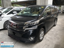 2015 TOYOTA VELLFIRE Unreg Toyota Vellfire X Spec 8SEATHER 2PD PB 360view Cam Keyless Push Start 7G