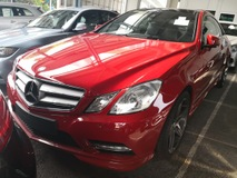 2012 MERCEDES-BENZ E-CLASS E200/AMG/PANORAMIC ROOF /UNREG