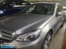 2014 MERCEDES-BENZ E-CLASS E200 FACELIFT,C&C SERVIS UNDER WARRANTY,Mileage 46k km