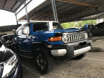 2011 TOYOTA FJ CRUISER 4.0 COLOR PACKAGE A TRAC REVERSE CAMERA NO SST NO GST 2011 JAPAN