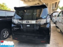 2015 TOYOTA VELLFIRE 2.5 0 SST.HI SPEC.GENUINE YEAR MADE N CAN PROVE 15 UNREGIST.3 POWER DOORD N BOOT.360 CAM.2 WHEEL DRIVE,FREE WARRANTY N MANY GIFTS