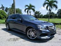 2015 MERCEDES-BENZ E-CLASS STATIONWAGON E250 AMG SPORT PREMIUM PLUS ESTATE Unreg