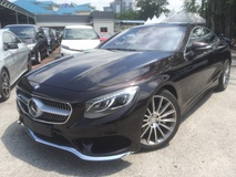 2015 MERCEDES-BENZ S-CLASS S500 COUPE AMG Unreg