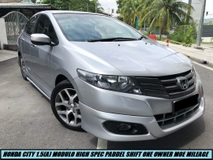 2012 HONDA CITY 1.5E FACELIFT HIGHSPEC MODULO PADDEL SHIFT TIPTOP CONDITION ONE OWNER LIKE NEW CAR LOW MILEAGE