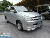 2008 TOYOTA INNOVA 2.0G (AT), ONE OWNER, LOW KKM, LIKE NEW, FULL BODYKIT, 7 SEATER, DVD, WELL MAINTAIN, ABS, AIR COUND, AIRBAG, PJ LOCATION
