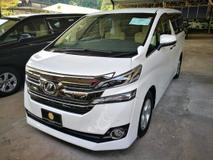 2016 TOYOTA VELLFIRE 2.5X (2 power doors)