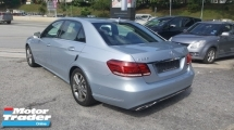 2013 MERCEDES-BENZ E-CLASS E250 AVANTGARDE UNREG 1 YEAR WARRANTY