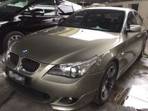 2006 BMW 5 SERIES 525i M-SPORT E60 MAGNESIUM, PUSH START