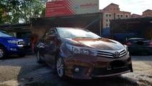 2014 TOYOTA COROLLA ALTIS 1.8 E (A) Full Toyota Service