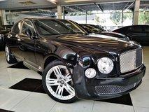 2012 BENTLEY MULSANNE 6.75-litre twin-turbo V8 unregistered