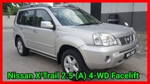 2013 NISSAN X-TRAIL 2.5 CVT 4WD FACELIFT COMFORT EXCELLENT CONDITION FULL LOAN