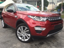 2016 LAND ROVER DISCOVERY SPORT HSE LUXURY Si4 240HP Unreg