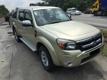 2009 FORD RANGER 2.5 XLT TDCI 4X4 DOUBLE CAB