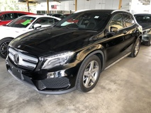 2016 MERCEDES-BENZ GLA GLA180 AMG Edition Turbocharged 7G-DCT Panoramic Roof Memory Seat Smart Entry Push Start Button Paddle Shift Steering Automatic Power Boot Intelligent LED Pre Crash Bluetooth Connectivity Unreg