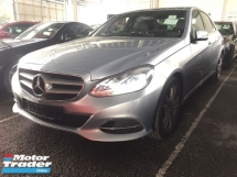 2013 MERCEDES-BENZ E-CLASS E250 FACELIFT O SST.ADVANTGARDE.7 SPEED.PADDLE SHIFT.LED DAYLIGHT.TRUE N CAN PROVE 13 UNREG.FREE GIFTS N WARRANTY