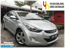 2013 HYUNDAI ELANTRA 1.6 HIGH SPEC (A) PUSH START LEATHER SEAT 1 OWNER