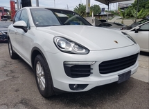 2015 PORSCHE CAYENNE 2015 Porsche Cayenne  3.6 Japan Spec Facelift Unregister for sale .