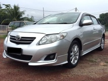 2009 TOYOTA COROLLA ALTIS 1.8G (AT) POWER SEAT HIGH SPEC