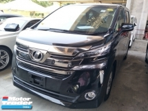 2016 TOYOTA VELLFIRE 2.5 360 VIEW CAMERA POWER BOOT 2 POWER DOOR 8 SEATER