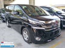 2016 TOYOTA VELLFIRE 2.5 POWER BOOT 360 VIEW CAMERA 2 POWER DOOR 8 SEATER