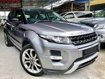 2014 LAND ROVER EVOQUE 2.0 (A) PETROL DYNAMIC 9 SPEED FULL SPEC UNDER WARRANTY GOOD CONDITION