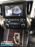 2016 TOYOTA VELLFIRE Unreg Toyota Vellfire 2.5  X Spec 8seather 360view 2PD PowerBoot Keyless 7G