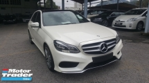 2014 MERCEDES-BENZ E-CLASS E200 AMG Panoramic Roof Unreg 1 YEAR WARRANTY